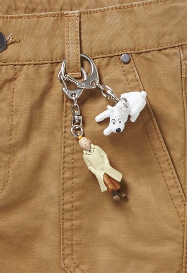 Un porte-clé offert pour tout pantalon ou bermuda acheté !