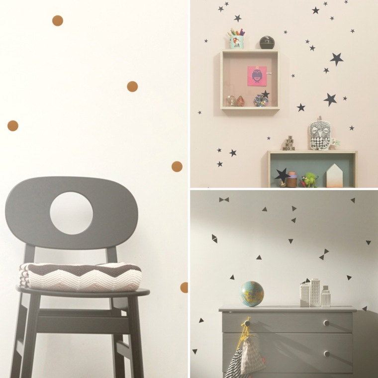 Pois, 17,50 €. Etoiles, 17,50 €. Triangles, 17,50 €.