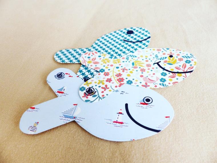 Stickers poissons : Petit Bateau