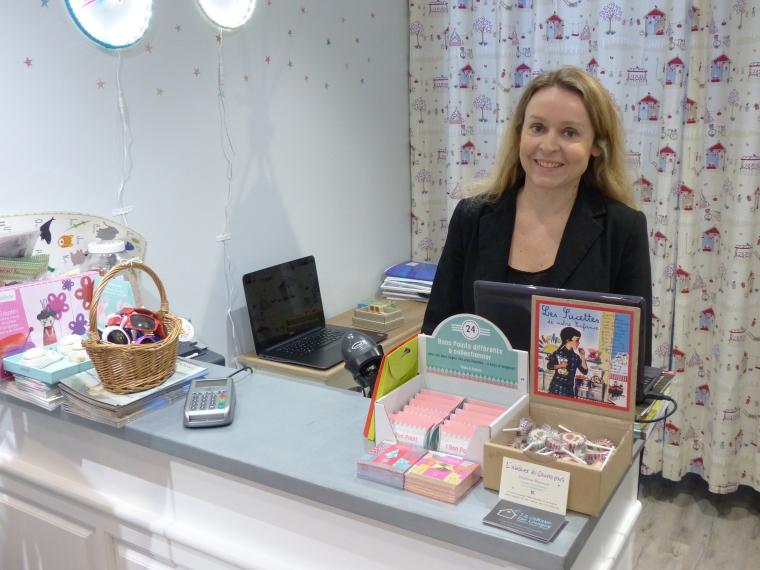 Carine Rion, créatrice du concept-store pour enfants La Cabane de Louison