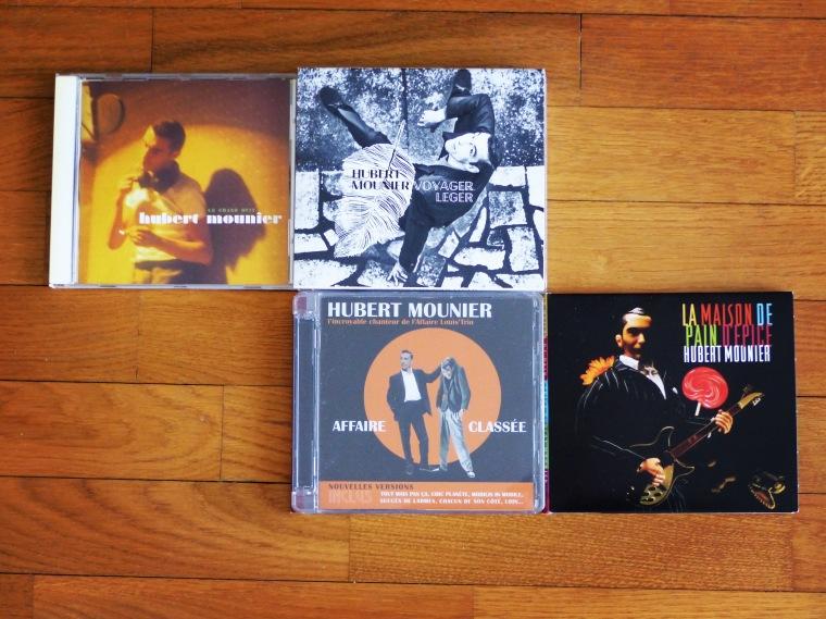 Les albums solo d'Hubert Mounier